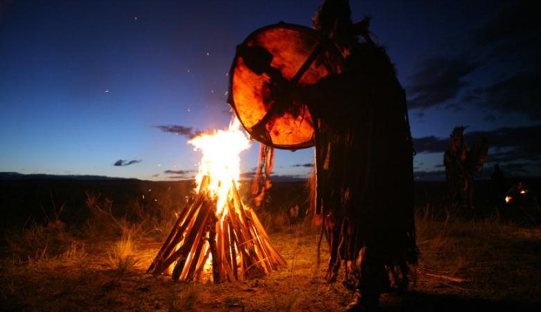 Верховный шаман Тувы1